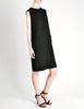 Norman Norell Vintage Black Wool Shift Dress - Amarcord Vintage Fashion  - 2