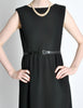 Norman Norell Vintage 1960s Little Black Dress - Amarcord Vintage Fashion  - 3
