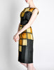 Oleg Cassini Vintage 1960s Silk Square Print Dress - Amarcord Vintage Fashion  - 4