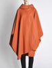 Mariantonia Vintage 1960s Orange Wool Hooded Cape - Amarcord Vintage Fashion  - 2