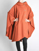 Mariantonia Vintage 1960s Orange Wool Hooded Cape - Amarcord Vintage Fashion  - 6
