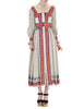 Oscar de la Renta Vintage Cotton Ethnic Print Maxi Dress - Amarcord Vintage Fashion  - 1