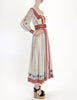 Oscar de la Renta Vintage Cotton Ethnic Print Maxi Dress - Amarcord Vintage Fashion  - 5