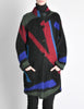 Vintage Knit Mohair Button Up Abstract Sweater - Amarcord Vintage Fashion  - 3