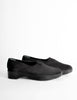 Robert Clergerie Vintage Black Stretch Platform Slip On Shoes - Amarcord Vintage Fashion  - 2
