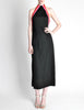 Rudi Gernreich Vintage Black Pink Red Halter Dress - Amarcord Vintage Fashion  - 4