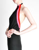Rudi Gernreich Vintage Black Pink Red Halter Dress - Amarcord Vintage Fashion  - 3