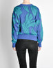 Saint Laurent Rive Gauche Vintage Leaf Print Knit Sweater - Amarcord Vintage Fashion  - 6