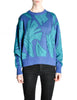 Saint Laurent Rive Gauche Vintage Leaf Print Knit Sweater - Amarcord Vintage Fashion  - 1
