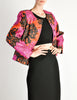 Saint Laurent Rive Gauche Vintage Quilted Silk Chrysanthemum Jacket - Amarcord Vintage Fashion  - 6