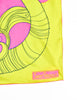 Sant'Angelo Vintage Hot Pink and Chartreuse Silk Scarf - Amarcord Vintage Fashion  - 7