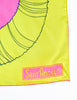 Sant'Angelo Vintage Hot Pink and Chartreuse Silk Scarf - Amarcord Vintage Fashion  - 3