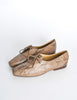 Trussardi Vintage Snakeskin Oxford Shoes - Amarcord Vintage Fashion  - 4