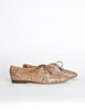 Trussardi Vintage Snakeskin Oxford Shoes - Amarcord Vintage Fashion  - 3