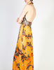 Stephen Burrows Vintage Floral Halter Wrap Dress - Amarcord Vintage Fashion  - 5