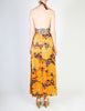 Stephen Burrows Vintage Floral Halter Wrap Dress - Amarcord Vintage Fashion  - 6