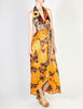 Stephen Burrows Vintage Floral Halter Wrap Dress - Amarcord Vintage Fashion  - 4