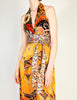 Stephen Burrows Vintage Floral Halter Wrap Dress - Amarcord Vintage Fashion  - 3