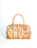 Vintage 1970s Supreme Floral Print Leather Handbag - Amarcord Vintage Fashion  - 3