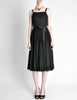Suzy Perette Vintage Black Silk Crepe Dress - Amarcord Vintage Fashion  - 4