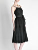 Suzy Perette Vintage Black Silk Crepe Dress - Amarcord Vintage Fashion  - 7