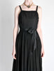 Suzy Perette Vintage Black Silk Crepe Dress - Amarcord Vintage Fashion  - 5