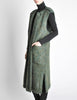 Ted Lapidus Diffusion Vintage Green Mohair Maxi Vest - Amarcord Vintage Fashion  - 6