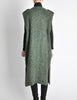 Ted Lapidus Diffusion Vintage Green Mohair Maxi Vest - Amarcord Vintage Fashion  - 7