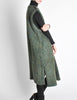 Ted Lapidus Diffusion Vintage Green Mohair Maxi Vest - Amarcord Vintage Fashion  - 5