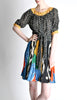 Ungaro Vintage Colorful Patterned Two Piece Set - Amarcord Vintage Fashion  - 5