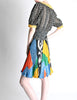 Ungaro Vintage Colorful Patterned Two Piece Set - Amarcord Vintage Fashion  - 3