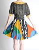 Ungaro Vintage Colorful Patterned Two Piece Set - Amarcord Vintage Fashion  - 6