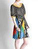 Ungaro Vintage Colorful Patterned Two Piece Set - Amarcord Vintage Fashion  - 4