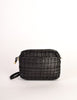 Valentino Vintage Black Woven Leather Crossbody Bag - Amarcord Vintage Fashion  - 2