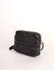 Valentino Vintage Black Woven Leather Crossbody Bag - Amarcord Vintage Fashion  - 3