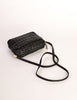 Valentino Vintage Black Woven Leather Crossbody Bag - Amarcord Vintage Fashion  - 7