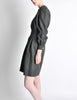 Valentino Vintage Charcoal Grey Wool Dress - Amarcord Vintage Fashion  - 5