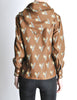 Valentino Vintage V Monogram Print Silk Shirt with Scarf - Amarcord Vintage Fashion  - 6