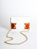 Valentino Vintage White Clutch Bag - Amarcord Vintage Fashion  - 6