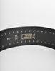 Versace Vintage Black and Gold Studded Medusa Belt - Amarcord Vintage Fashion  - 8