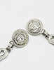 Versace Vintage Giant Silver Medusa Safety Pin Earrings - Amarcord Vintage Fashion  - 4