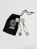 Versace Vintage Giant Silver Medusa Safety Pin Earrings - Amarcord Vintage Fashion  - 9