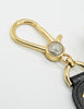 Versace Vintage Black and Gold Medusa Keyring - Amarcord Vintage Fashion  - 4