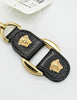 Versace Vintage Black and Gold Medusa Keyring - Amarcord Vintage Fashion  - 5