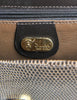 Gucci Vintage Brown Lizard Skin Clutch Bag - Amarcord Vintage Fashion  - 4