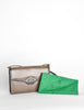 Gucci Vintage Brown Lizard Skin Clutch Bag - Amarcord Vintage Fashion  - 6