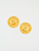 Christian Lacroix Vintage Gold Flower Burst Earrings - Amarcord Vintage Fashion  - 4