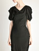 Vivienne Westwood Red Label Black Crepe Dress - Amarcord Vintage Fashion  - 3
