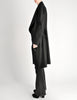 Vivienne Westwood Red Label Black Wool Draped Coat - Amarcord Vintage Fashion  - 6