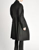 Vivienne Westwood Red Label Black Wool Draped Coat - Amarcord Vintage Fashion  - 8